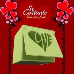 Imprimir en 3D CAJITAS SAN VALENTIN DIA DE LOS ENAMORADOS - BOX VALENTINE'S DAY, SrCortante