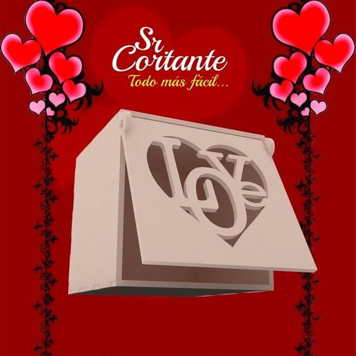 Télécharger fichier 3D BOX VALENTIN, SrCortante