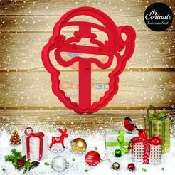 Descargar STL CORTANTES NAVIDAD - CUTTER OF  COOKIES MERRY CHRISTMAS, SrCortante
