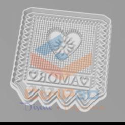 Télécharger plan imprimante 3D EMPORTE-PIÈCES DRAPEAUX MEXICAINS - EMPORTE-PIÈCE DE BISCUITS, SrCortante
