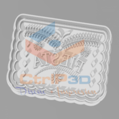 Descargar archivos 3D CORTANTES GALLETA BANDERINES MEXICANOS - CUTTER OF  COOKIES, SrCortante