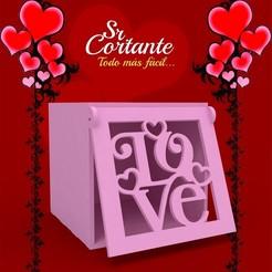 CAJITAS SAN VALENTIN.jpg Download STL file BOX VALENTINE'S DAY • Object to 3D print, SrCortante