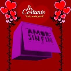 CAJITAS_MUESTRA04.jpg Download STL file BOX VALENTINE'S DAY • Object to 3D print, SrCortante