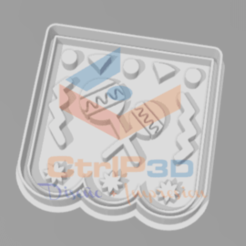 Download 3D printer model COOKIE CUTTERS MEXICAN FLAGS - CUTTER OF COOKIES, SrCortante