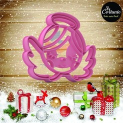Download 3D print files CUTTER OF COOKIES MERRY CHRISTMAS, SrCortante
