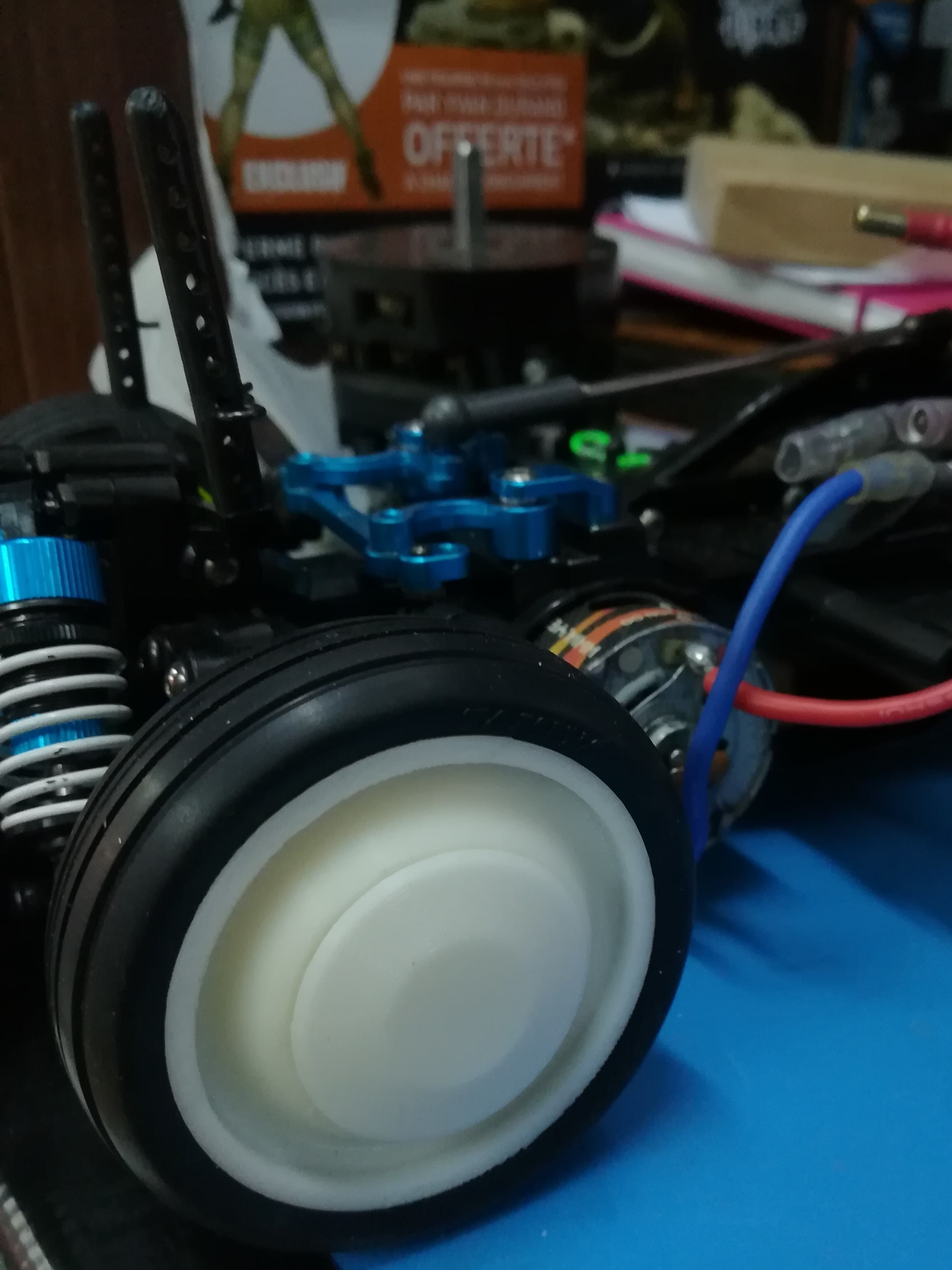 jante 3.jpg Download free STL file Rim 2 HP 1/10 R/C Tamiya M-chassis • Model to 3D print, Michael_moi