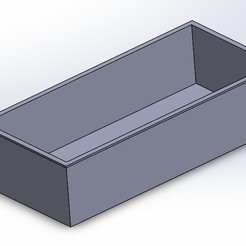 Free 3D model Box with sliding lid, Michael_moi