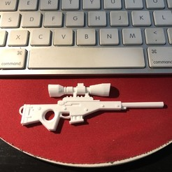 3d printer model Fortnite - Bolt-Action Sniper keychain!, Coorbin