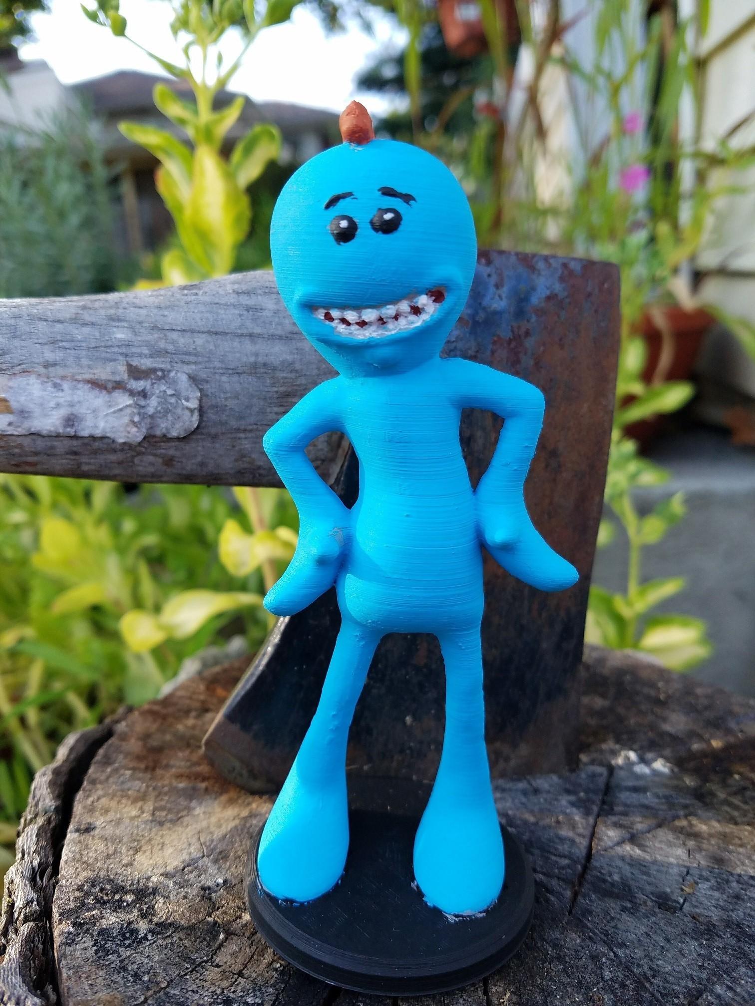 20170815_183236.jpg Download free STL file Rick and Morty assortment of Mr. Meeseeks • 3D printable model, Anthrobones