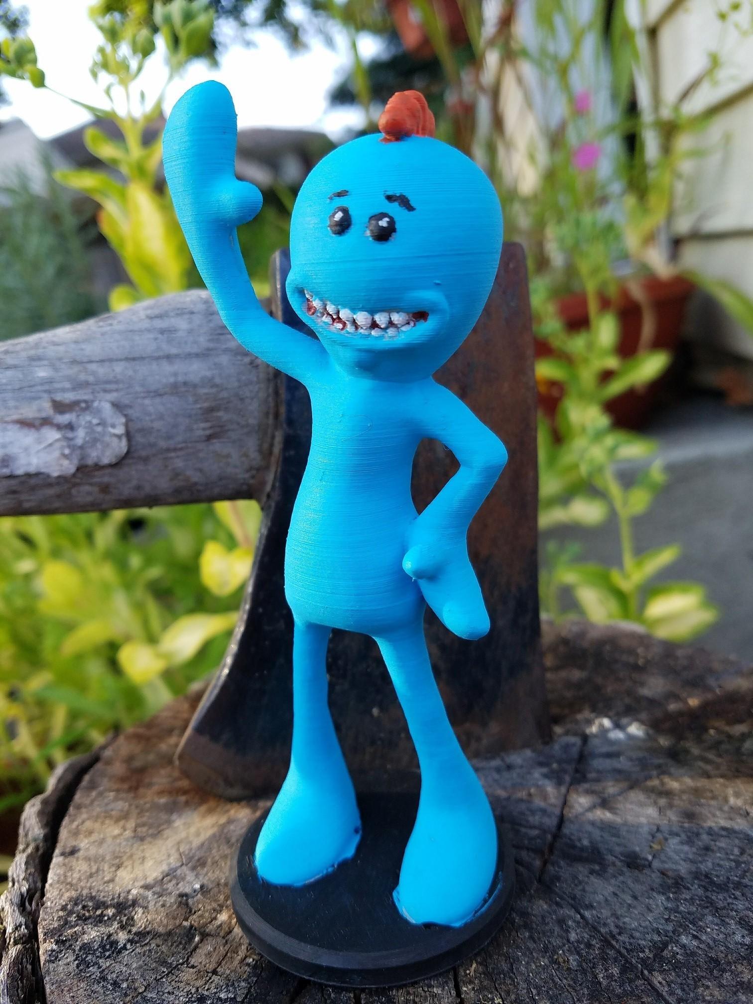 20170815_183248.jpg Download free STL file Rick and Morty assortment of Mr. Meeseeks • 3D printable model, Anthrobones