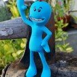 Download free 3D printer designs Rick and Morty assortment of Mr. Meeseeks, Anthrobones