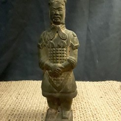 STL files WARRIOR #2: TERRACOTTA ARMY WARRIORS OF THE FIRST EMPEROR OF CHINA, Anthrobones