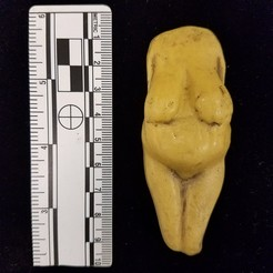 3D printer files VENUS #4, KOSTENKI I, ancient PALEOLITHIC FEMALE FIGURINE, Anthrobones