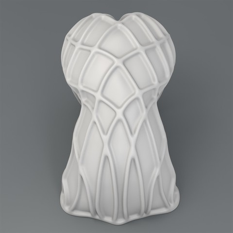 Fold-render3_1200.jpg Download STL file Body Sculpture - Fold • 3D print object, ThreeForm