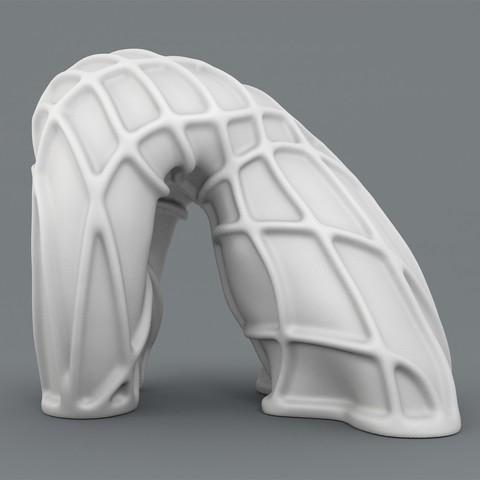 Fold-render2_1200.jpg Download STL file Body Sculpture - Fold • 3D print object, ThreeForm