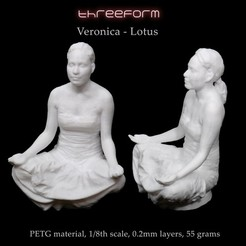 Télécharger fichier imprimante 3D Verónica - Lotus pose, ThreeForm