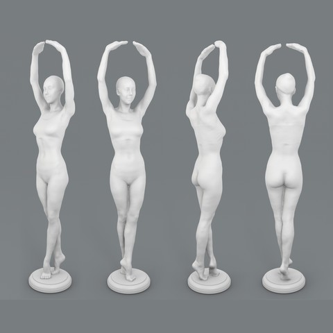 3D printer files Nova - Ballet pose, ThreeForm