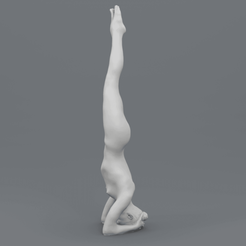 Download 3D printer model Yoga Pose - Headstand (Śīrṣāsana), ThreeForm