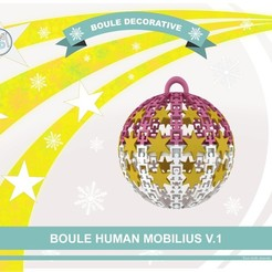 Descargar STL gratis HM bola decorativa, Tibe-Design