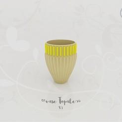 3D printer files Topal Vase V.1, Tibe-Design