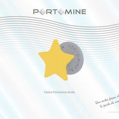 3D printing model Portomine star peg, Tibe-Design