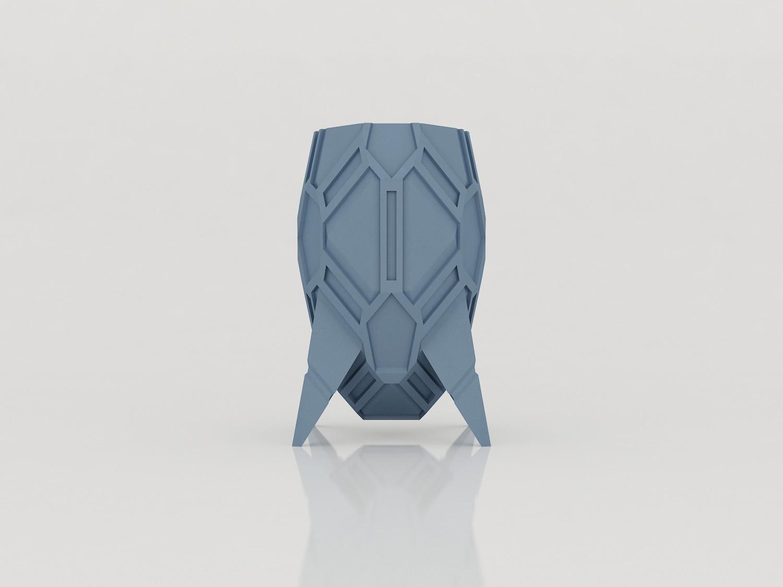 vase_stromboide_face01.jpg Download STL file Stromboid Vase • 3D printable object, Tibe-Design