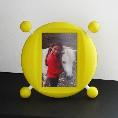 Fichier 3D Cadre photo ou cadre miroir Look At Me, Tibe-Design