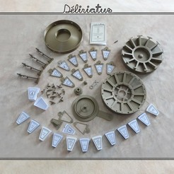 delirictus_photos01.jpg Download STL file Delirictus Board Game • 3D printable object, Tibe-Design