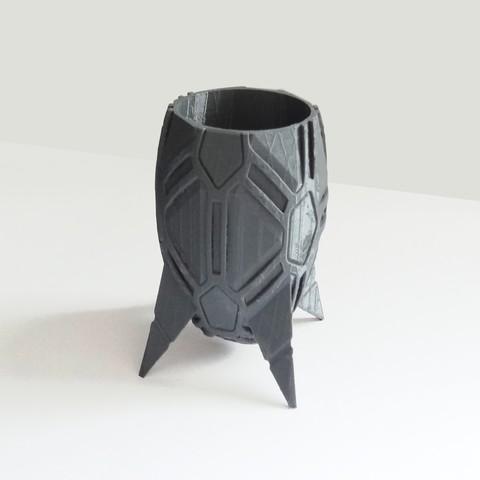 vase_stromboide_int02.jpg Download STL file Stromboid Vase • 3D printable object, Tibe-Design