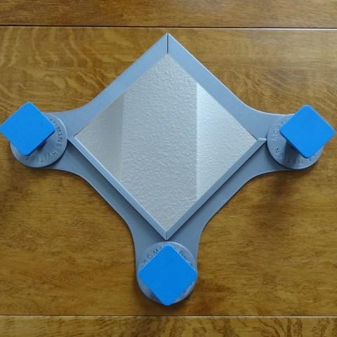 Télécharger fichier impression 3D gratuit Miroir & patères Portomine, Tibe-Design