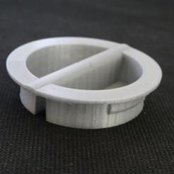 Descargar Modelos 3D para imprimir gratis Tapa del depósito de GLP francés Universal para enganchar, Tibe-Design