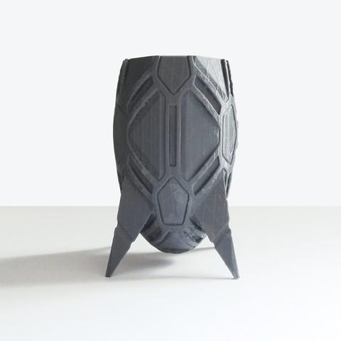 vase_stromboide_int01.jpg Download STL file Stromboid Vase • 3D printable object, Tibe-Design