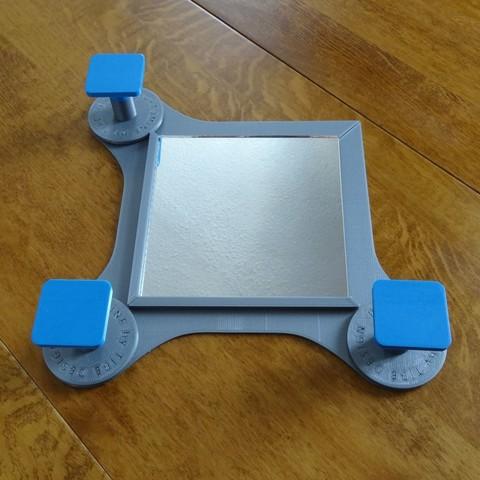 DSC06269.JPG Download STL file Portomine Liberty mirror & coat hooks • Model to 3D print, Tibe-Design