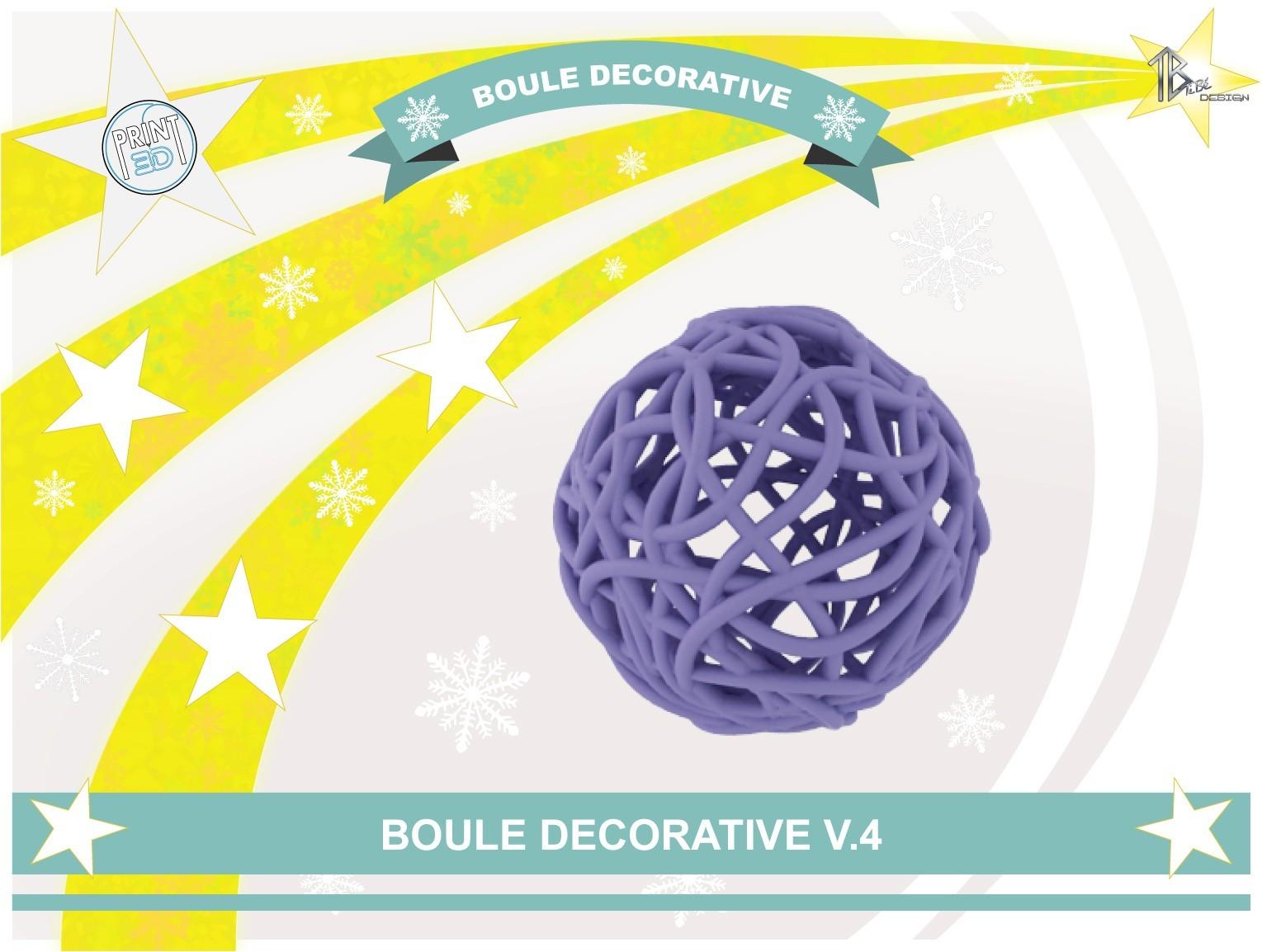 boule_deco_v4_def01.jpg Download free STL file Decorative ball V.4 • Design to 3D print, Tibe-Design