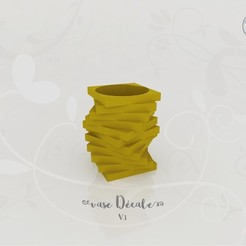 Free 3D printer model Shift Vase V.1, Tibe-Design