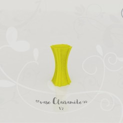 Fichier STL gratuit Vase Clairamide V.2, Tibe-Design