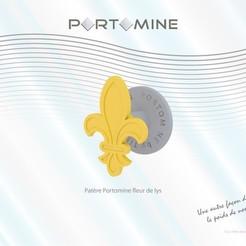 Impresiones 3D Enganche Portomine lirio, Tibe-Design