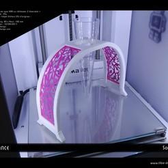 Fichier 3D Soliflore Elégance, Tibe-Design