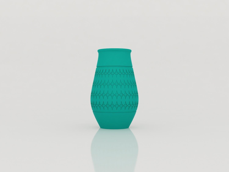 vase_modelie_face01.jpg Download STL file Vase Model • 3D printable design, Tibe-Design