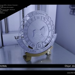 Download 3D printing files Deco object Cerclastral Lion, Tibe-Design