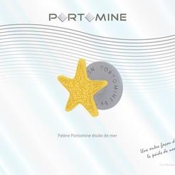 STL Portomine Starfish Hook, Tibe-Design