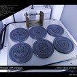 """Télécharger objet 3D gratuit Sous-verre """"The Prestige Car Logos"""", Tibe-Design"""