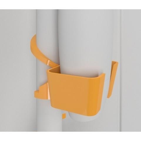 Hook_shower03.jpg Download free STL file SOAP HOLDER FOR SHOWER WITHOUT FIXING • 3D printable template, Vince3D