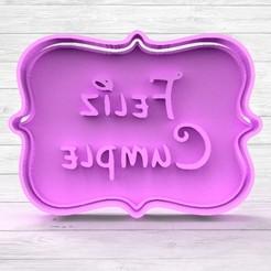 1b.jpg Download STL file Happy Birthday Cookie Cutters • 3D printer model, TiendaDeCortantes