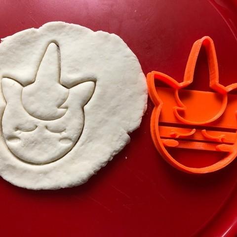 STL Unicorn Face Cutter - Cookie Cutter Unicorn Unicorn, Wanheda09