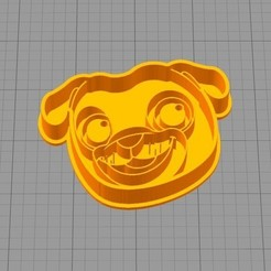 Descargar archivos 3D Cortante Rolly - Cookie Cutter Puppy Dogs Pals, Wanheda09