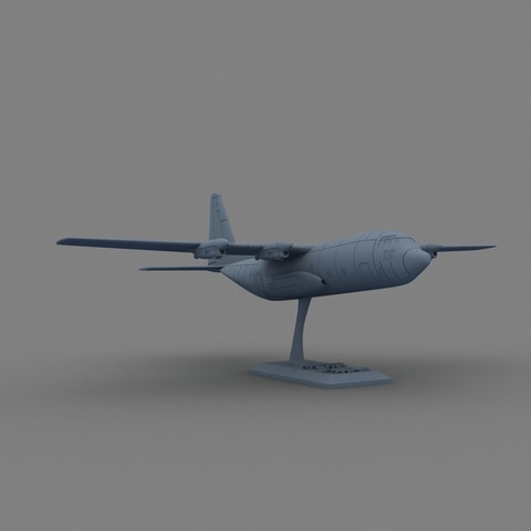 2.jpg Download STL file Hercules c 130 • 3D printable object, Nico_3D