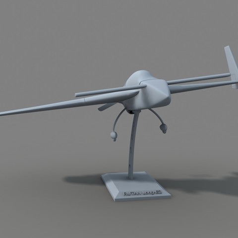 borra2.jpg Download STL file Rutan Long EZ • 3D print design, Nico_3D