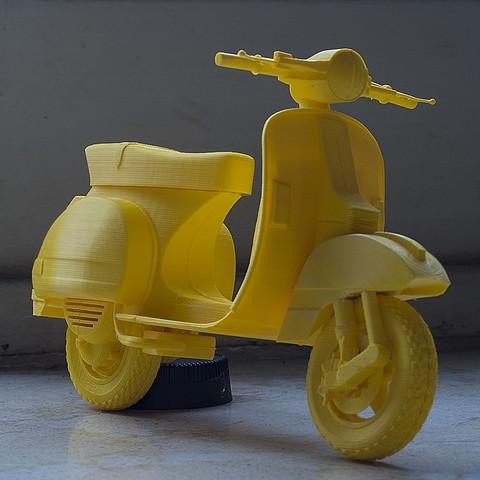 STL Vespa PX 150, Nico_3D
