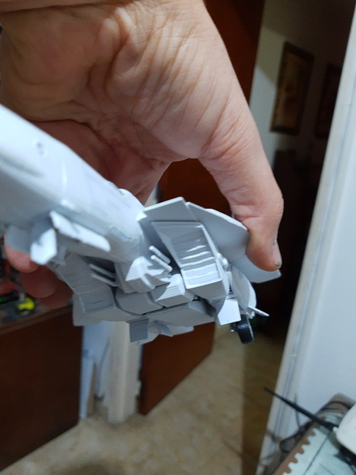80982051_2939000892798576_6241245384178401280_n.jpg Download STL file Vf1 Robotech V2.0 • 3D printable template, Nico_3D
